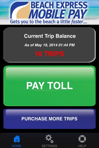 Beach Express Mobile Pay screenshot 1