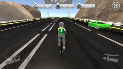 自転車交通レーシングライダーのスクリーンショット1