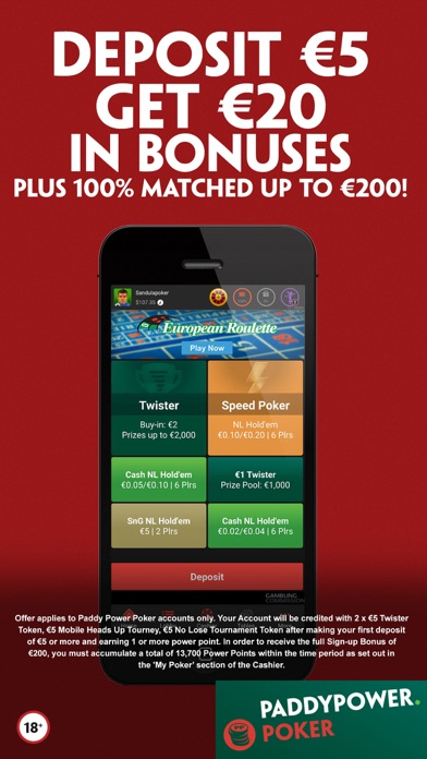 Paddy power poker download ipad