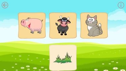 Еда животных. Игры для малышей Скриншоты4