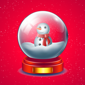 Hello White Christmas Sticker app review