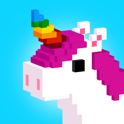 UNICORN 3D - Color by Number app for ipad