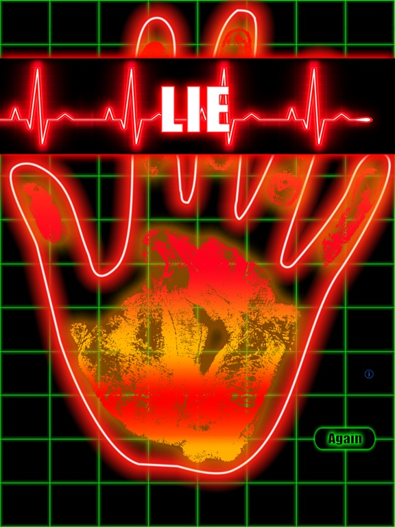 Screenshots of Truth and Lie Detector Scanner for iPad