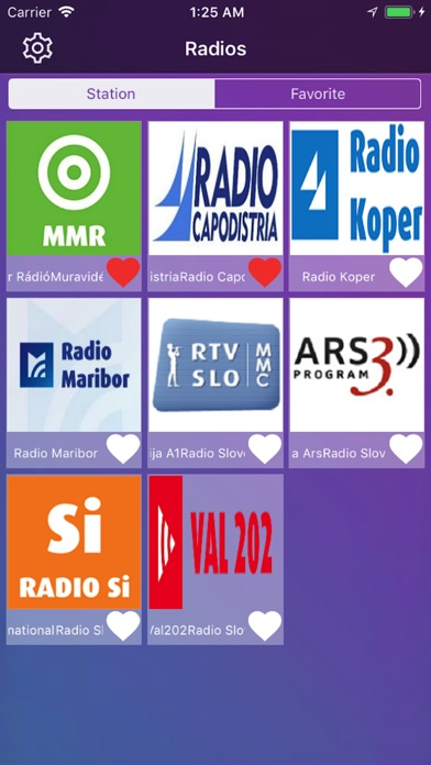 Radio Slovenija v1 screenshot 1