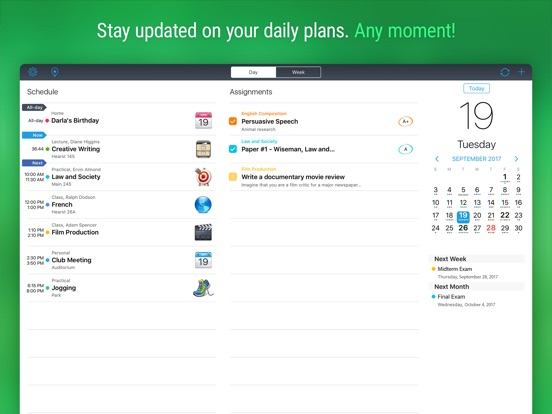 iStudiez Pro Legendary Planner Screenshots