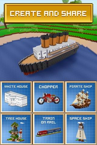 Block Craft 3D: City Building screenshot 4