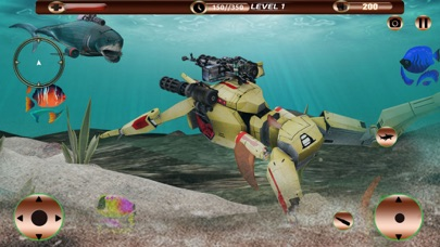 Angry Robot Shark Simulator screenshot 4