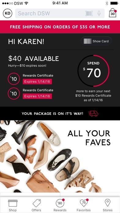 Dsw Designer Shoe Warehouse review screenshots