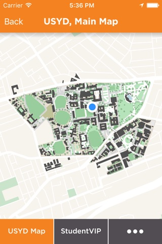 Sydney University Map screenshot 2