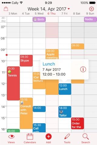 Week Calendar screenshot 2