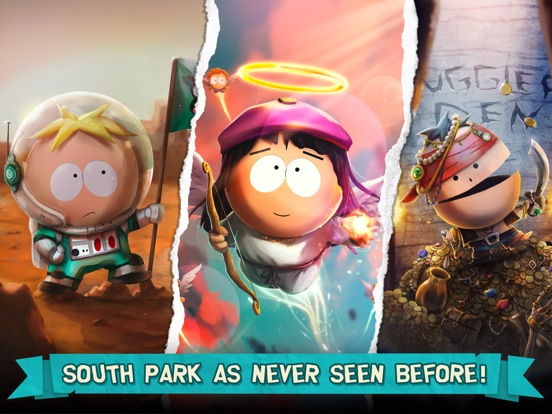 Screenshots of South Park: Phone Destroyer™ for iPad