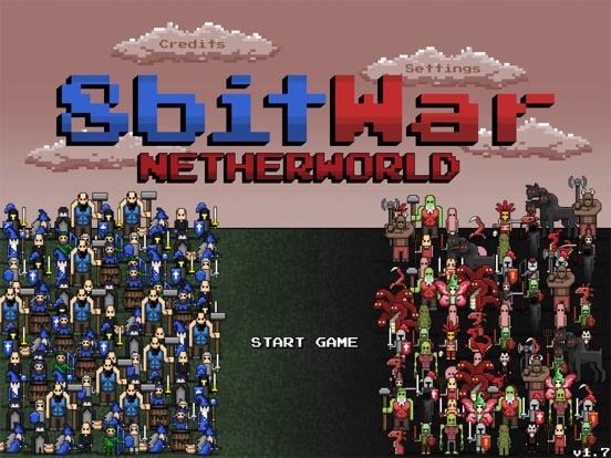 Screenshot #4 pour 8bitWar: Netherworld