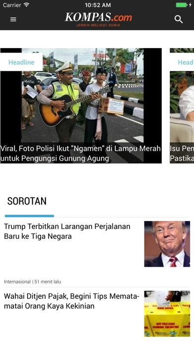 Antaramuka Kompas - Akhbar Indonesia