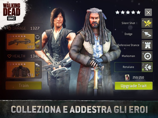 The Walking Dead No Man's Land Screenshot