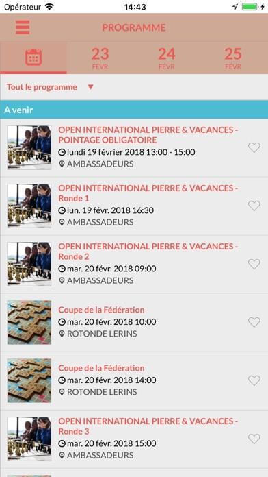 FIJ CannesCapture d'écran de 4