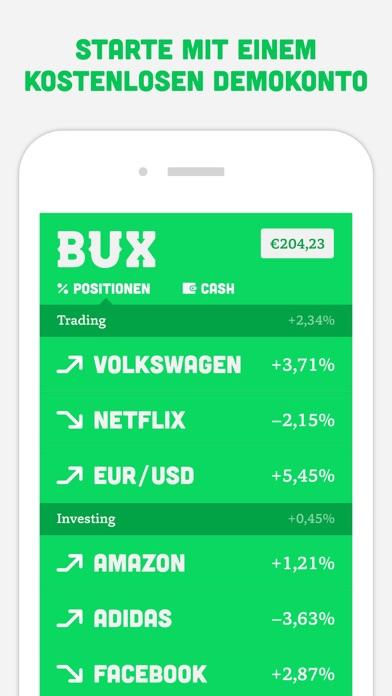 BUX - Trading leicht gemacht Screenshot