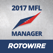 MyFantasyLeague Manager 2017 by RotoWire