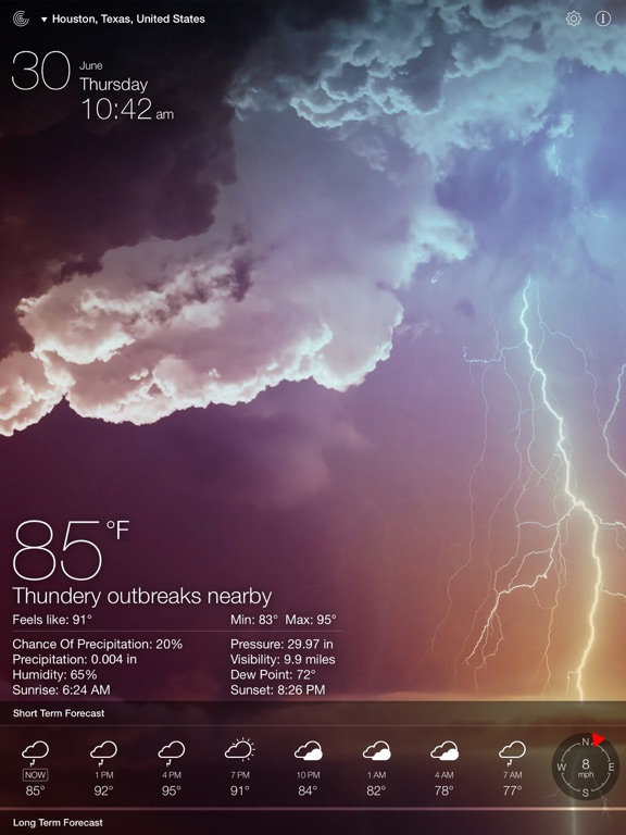Screenshot #2 for Weather Live.