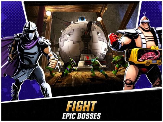 Ninja Turtles: Legends iPad