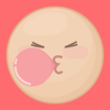 download Bubble Face Stickers