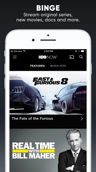 HBO NOW: Stream TV & Movies Screenshots