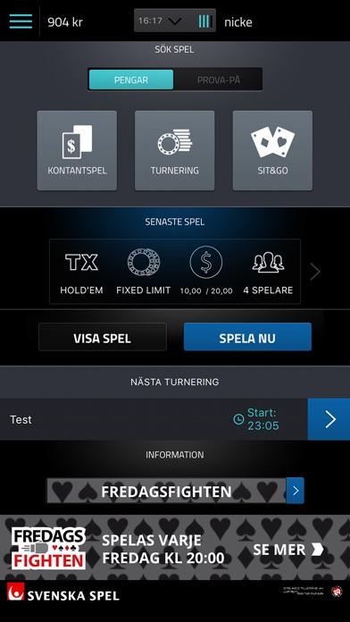 Mitt spel registrerades inte svenskaspel
