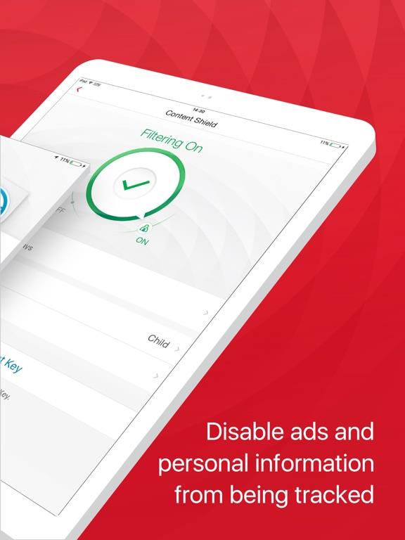 TM Mobile Security - WebFilter Screenshot