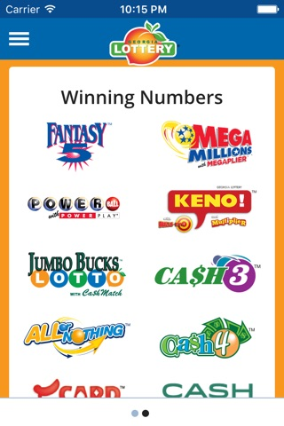 Download Georgia Lottery Official App app for iPhone and iPad