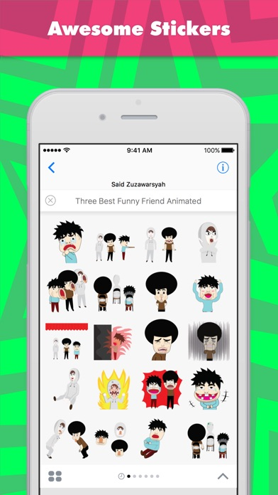 Three Best Funny Friend Animat review screenshots