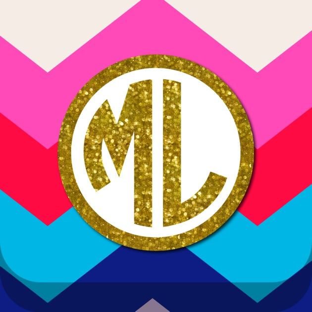 monogram wallpapers lite on the app store