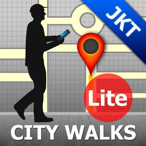 Jakarta Map and Walks