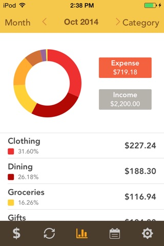 Checkbook Pro screenshot 3