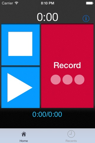 MP3 Voice Recorder screenshot 1