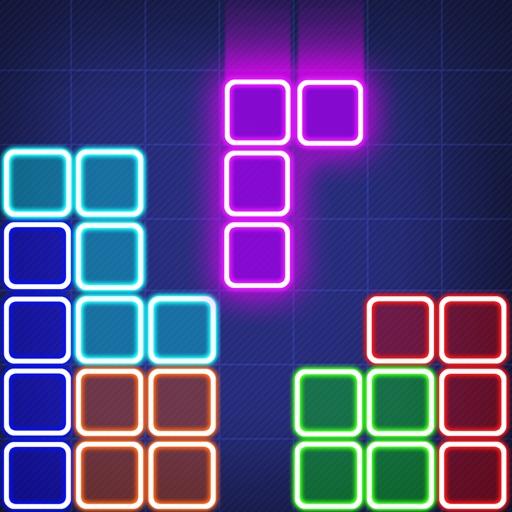螢光方塊拼圖 - Glow Block Puzzle