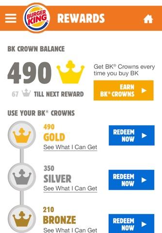 BURGER KING® App - New Zealand screenshot 2
