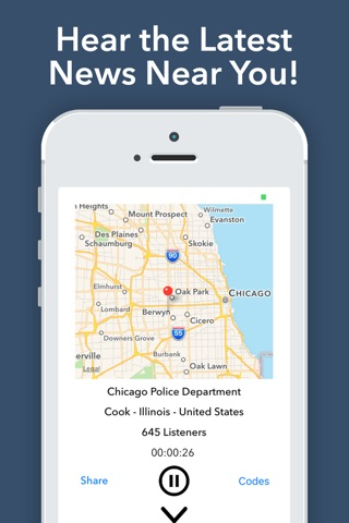 Police Scanner Radio - Pro screenshot 2