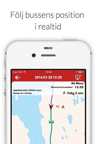 Länstrafiken Jämtland screenshot 4