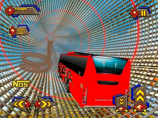 天空巴士疯狂不可能跟踪和漂移sim