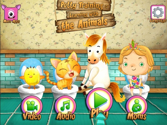 Potty Training With Animals Screenshots