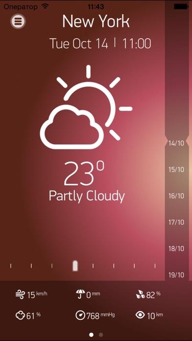 Прогноз погоды на 15 днейСкриншоты 3