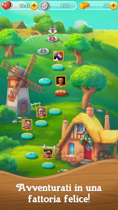 Screenshot of Farm Heroes Super Saga4