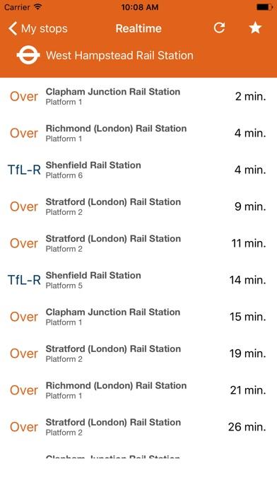 London Transport Live Times screenshot 4