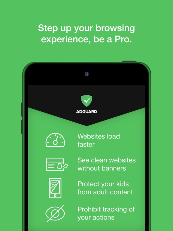 AdGuard Pro — adblock&privacy Screenshots