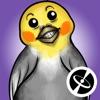 Попугай Альфред -Милые стикеры