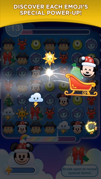 download Disney Emoji Blitz - Holiday appstore review