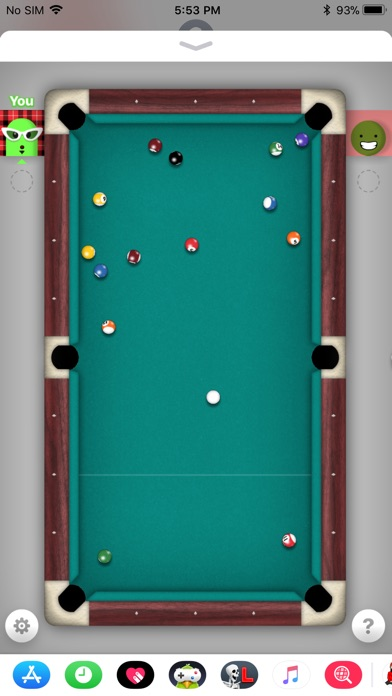 how you play 8 ball on imessage