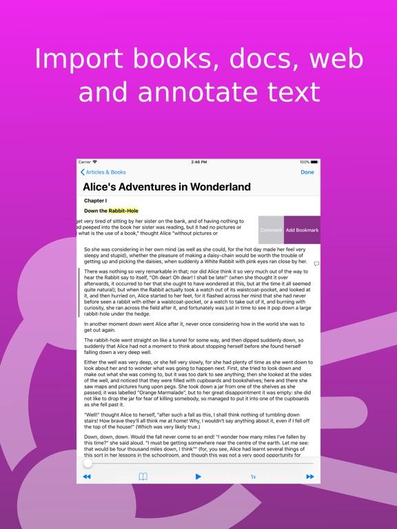 Screenshot #4 for Speech Central: Text to Speech