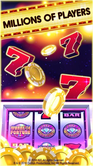 Screenshot of DoubleDown Casino Slots & More App