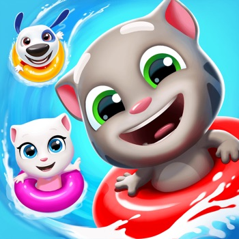 Talking Tom Pool app for iphone