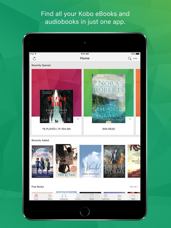 how to download kobo books to ipad